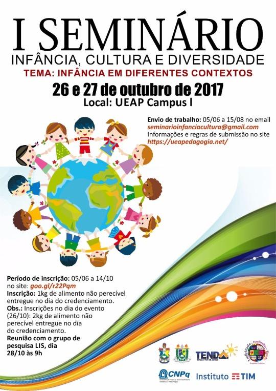 seminário Infancia, cultura e diversidade